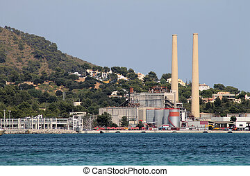 Coastal power station