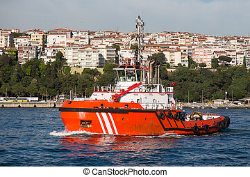 Coastal Safety Boat