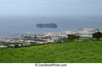 coastal scenery at the Azores - coastal scenery at S