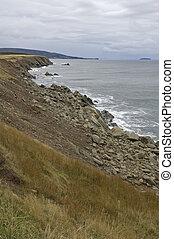 Coastal Scenics south of Cheticamp, Cape Breton Island, Nova Scotia, Canada