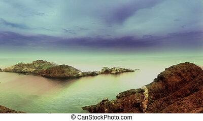 coastal shot in spain