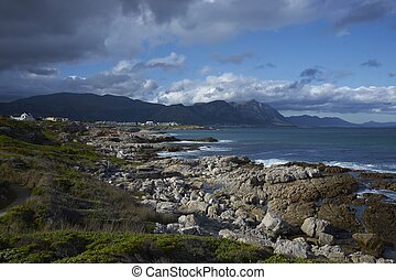 Coastal South Africa - Coastline at Hermanus in the Western...