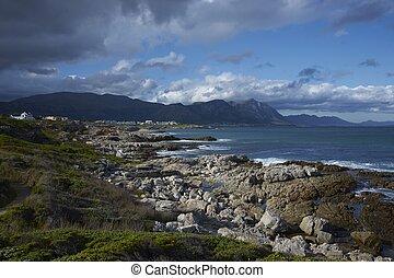Coastal South Africa - Coastline at Hermanus in the Western...