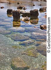 Coastal stones.