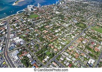 Coastal suburb