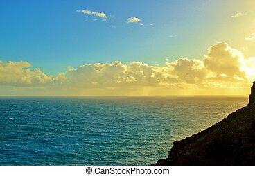 Coastal sunrise 1