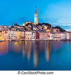 Coastal town of Rovinj, Istria, Croatia. - Rovinj is a city...