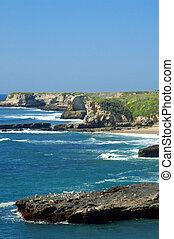 Coastal Views - California coast in springtime