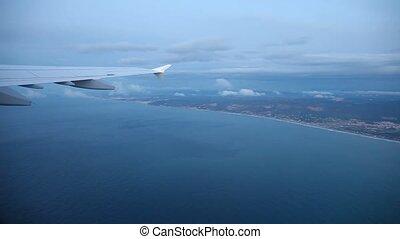 Coastline Aerial near Barcelona