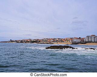 Beach in Porto