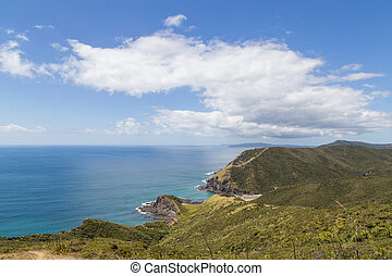 Coastline at Cape Reinga, New Zealand