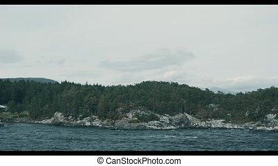 Coastline Boat Trip On Norwegian Fjords - Graded and...