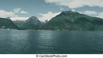 Coastline Boat Trip On Norwegian Fjords - Graded and ...
