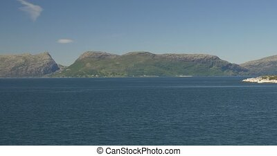 Coastline Boat Trip On Norwegian Fjords - Native Material, ...