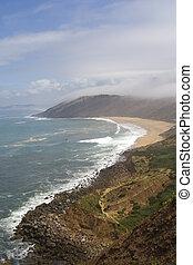Coastline in Portugal