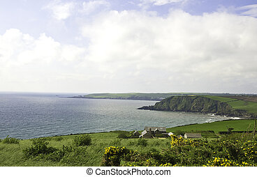 coastline in Southwest England