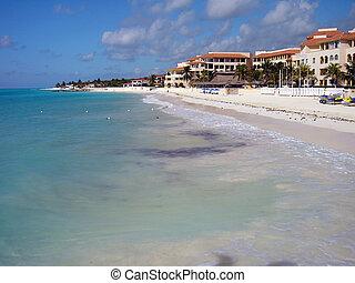 Coastline in the Caribbean
