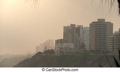 Coastline, Lima, Peru - coastline of Lima (Miraflores)...
