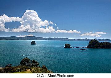 Coastline near Hahei, Coromandel Peninsula, New Zealand