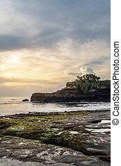 Coastline near the Tanah Lot Temple