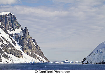 Coastline Of Antarctica