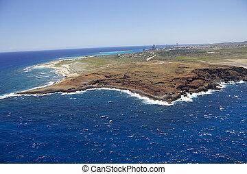 Coastline of Aruba's Eastpoint