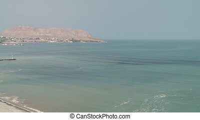 Coastline of Lima, Peru