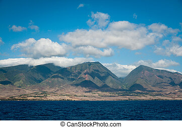 Coastline of northern Maui