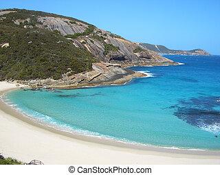 Coastline of Perth - This idyllic sandy beach is found near ...