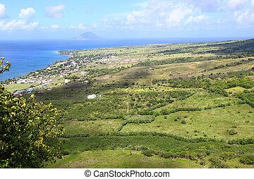 Coastline of Saint Kitts