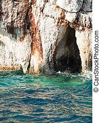 coastline of Zante, Greece