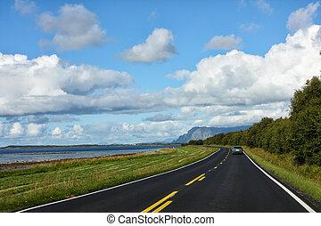 coastline road