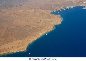 Coastline Sinai, Red sea