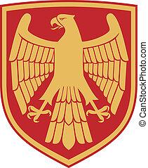 (coat, águia, braços, emblem)