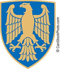 (coat, adelaar, armen, emblem)