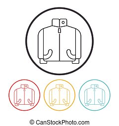 coat line icon