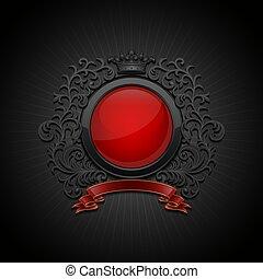 Coat of arms. Decorative symbol