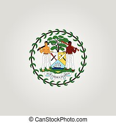 Coat of arms of Belize