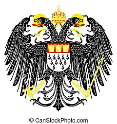 Coat of arms of Cologne, Germany. Vector Format.