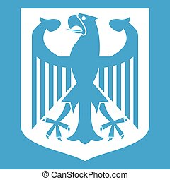Coat of Arms of Germany icon white