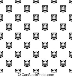 Coat of Arms of Germany pattern vector