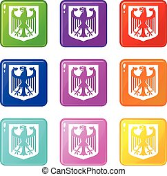 Coat of Arms of Germany set 9