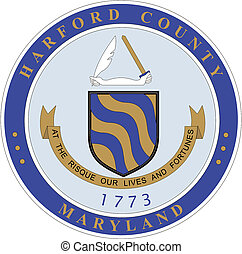 Coat of Arms of Harford County. America