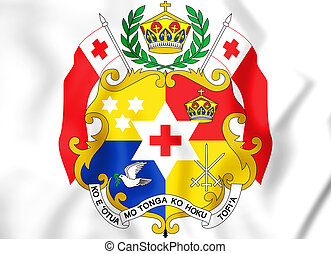 Coat of arms of the Tonga.