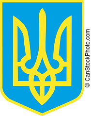 Ukraine - coat of arms of Ukraine