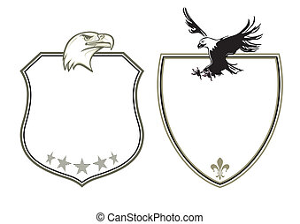 Coat of Arms with eagles
