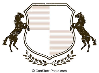 Coat of Arms with horses