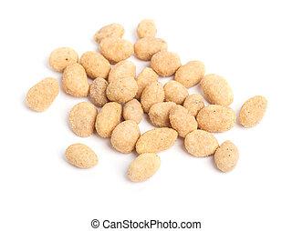 Coated peanuts