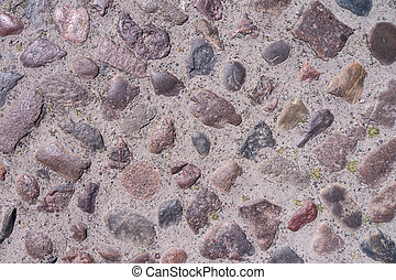 cobble stone background - old cobble stone background