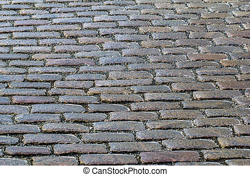 Cobble-stone pavement from Berlin.